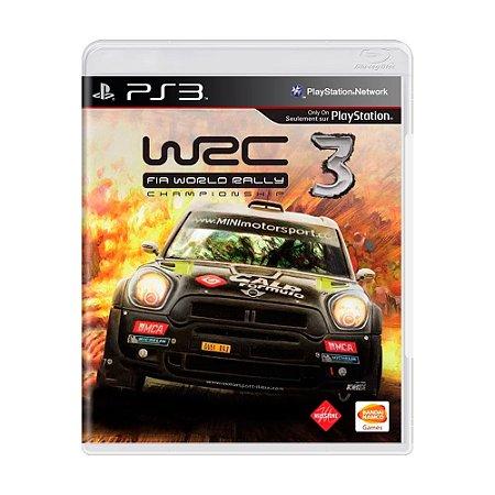 Jogo WRC 3: Fia World Rally Championship - PS3