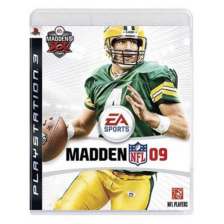 Jogo Madden NFL 09 - PS3