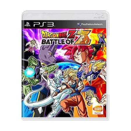 Jogo Dragon Ball Z: Battle of Z - PS3