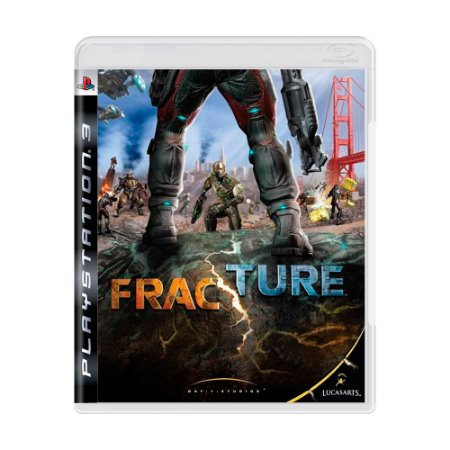 Jogo Fracture - PS3