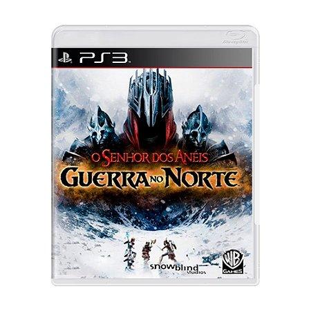 Jogo O Senhor dos Anéis: Guerra no Norte - PS3