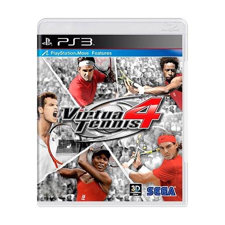 Jogo Virtua Tennis 4 - PS3