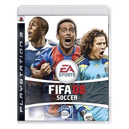 Jogo FIFA Soccer 08 - PS3