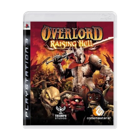 Jogo Overlord Raising Hell - PS3