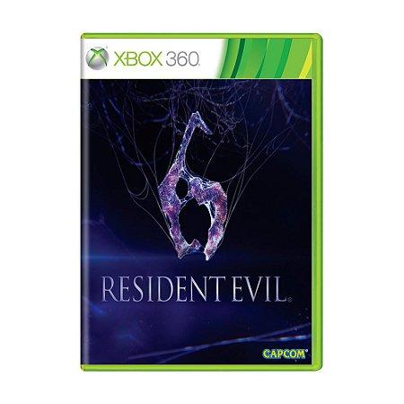Jogo Resident Evil 6 - Xbox 360