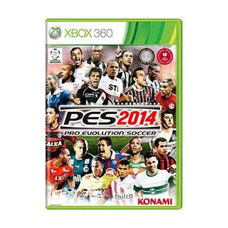 Jogo Pro Evolution Soccer 2014 (PES 14) - Xbox 360