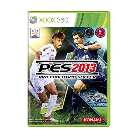 Jogo Pro Evolution Soccer 2013 (PES 13) - Xbox 360
