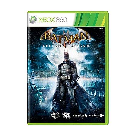 Jogo Batman: Arkham Asylum - Xbox 360