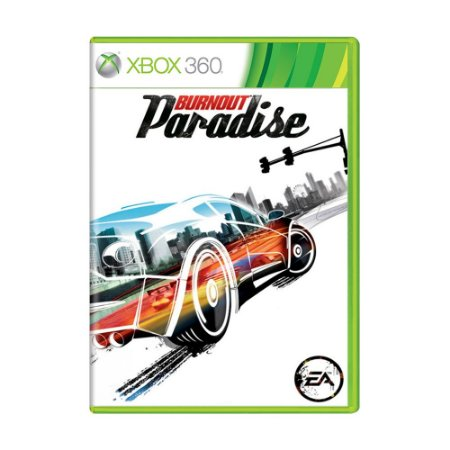 Jogo Burnout Paradise - Xbox 360