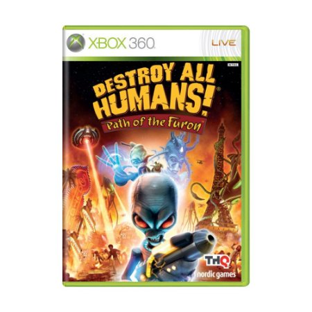 Jogo Destroy All Humans! Path of The Furon - Xbox 360