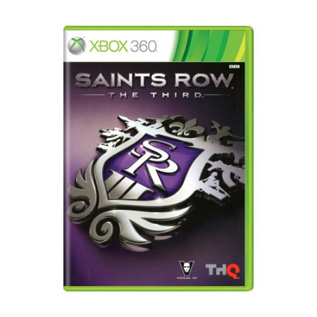 Jogo Saints Row: The Third - Xbox 360