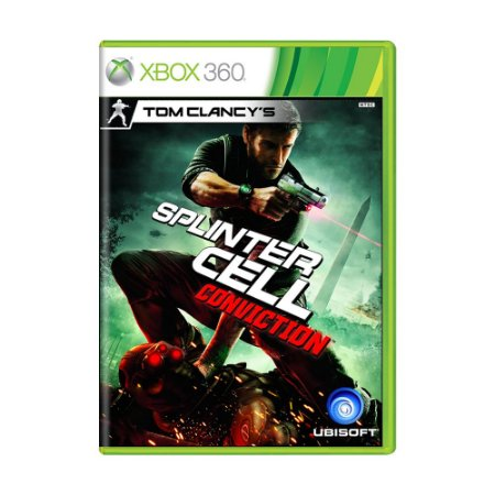 Jogo Tom Clancy's Splinter Cell: Conviction - Xbox 360