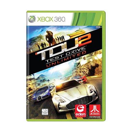 Jogo Test Drive Unlimited 2 - Xbox 360