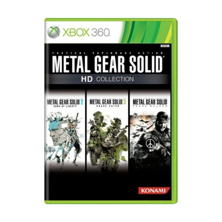Jogo Metal Gear Solid HD Collection - Xbox 360