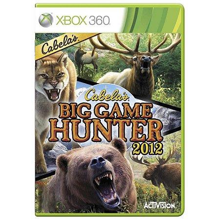 Jogo Cabela's Big Game Hunter 2012 - Xbox 360