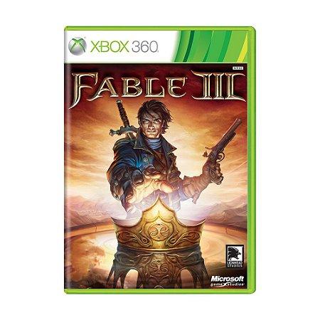 Jogo Fable III - Xbox 360
