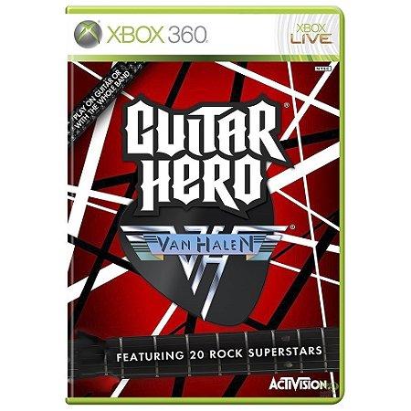 Jogo Guitar Hero: Van Halen - Xbox 360