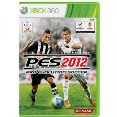 Jogo Pro Evolution Soccer 2012 (PES 12) - Xbox 360