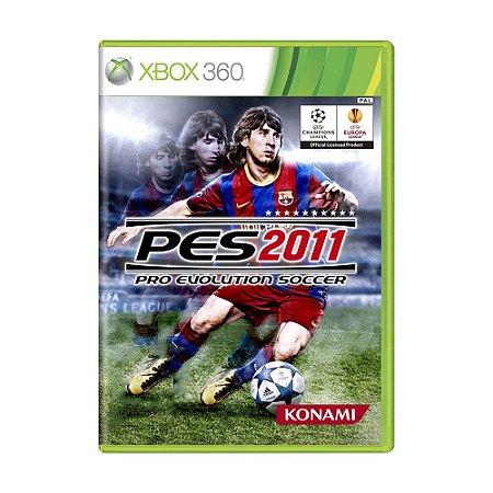Jogo Pro Evolution Soccer 2011 (PES 11) - Xbox 360