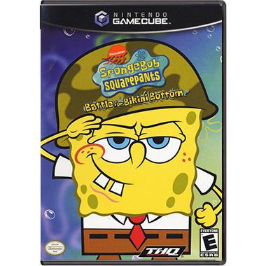 Jogo Spongebob Squarepants: Battle for Bikini Bottom - GC