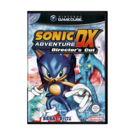 Jogo Sonic DX Adventure: Director's Cut - GC - GameCube