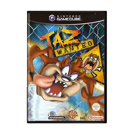 Jogo Taz Wanted - GC - GameCube