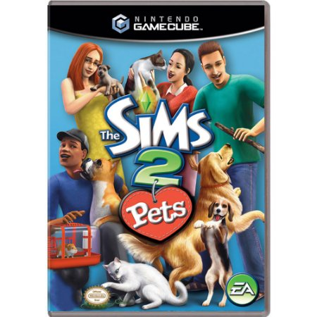 Jogo The Sims 2: Pets - GC - GameCube
