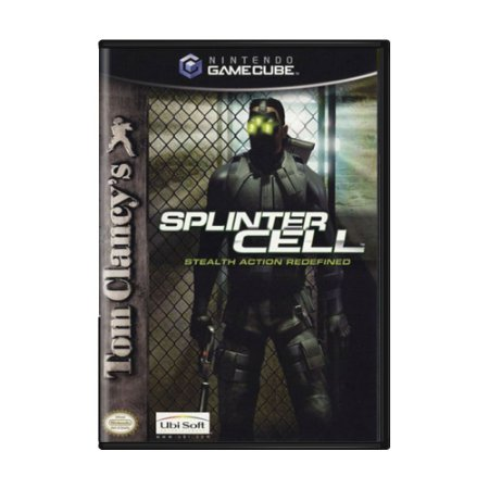 Jogo Tom Clancy's Splinter Cell: Stealth Action Redefined - GameCube
