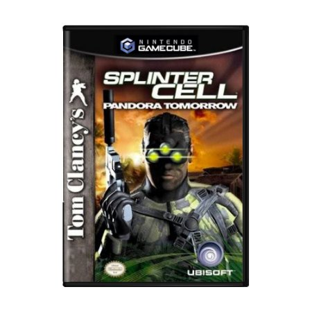 Jogo Tom Clancy's Splinter Cell: Pandora Tomorrow - GC - GameCube