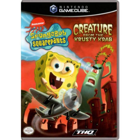 Jogo SpongeBob Squarepants: Creature From The Krusty Krab - GC - GameCube