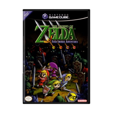 Jogo The Legend of Zelda: Four Swords Adventures - GameCube