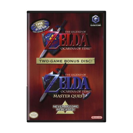Jogo The Legend of Zelda: Ocarina of Time - GC - GameCube