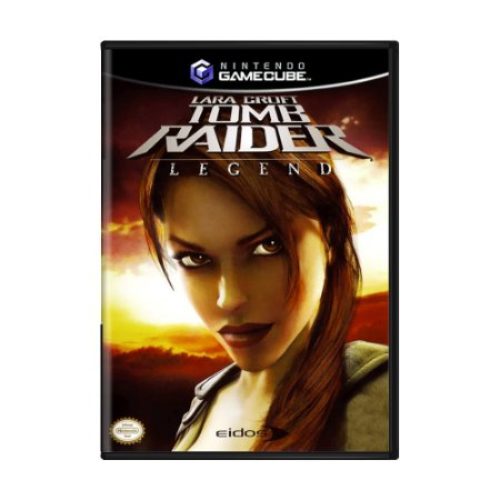 Jogo Tomb Raider: Legend - GC - GameCube
