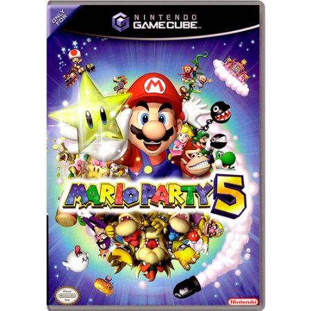 Jogo Mario Party 5 - GameCube