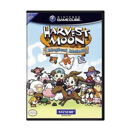 Jogo Harvest Moon: Magical Melody - GameCube