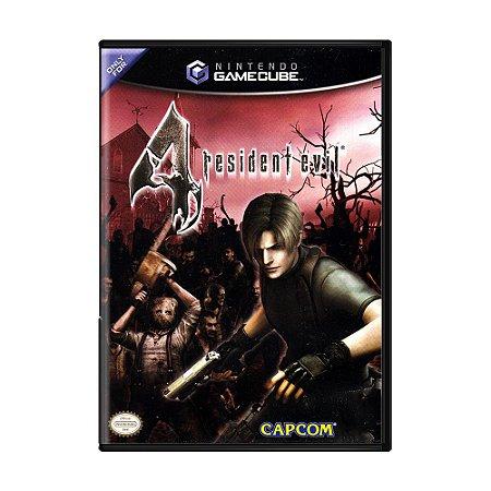 Jogo Resident Evil 4 - GC - GameCube