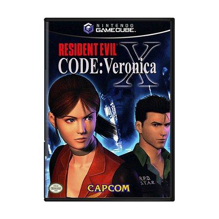 Jogo Resident Evil Code: Veronica X - GameCube