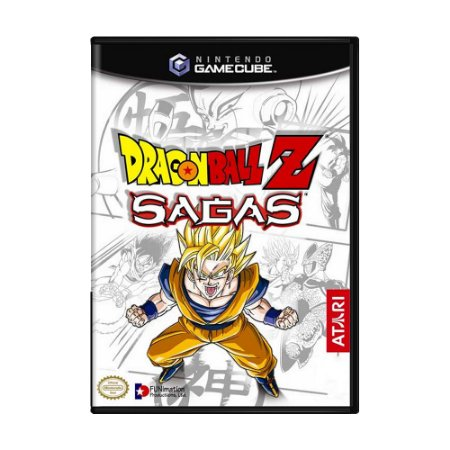 Jogo Dragon Ball Sagas - GC - GameCube