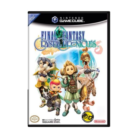 Jogo Final Fantasy: Crystal Chronicles - GC - GameCube