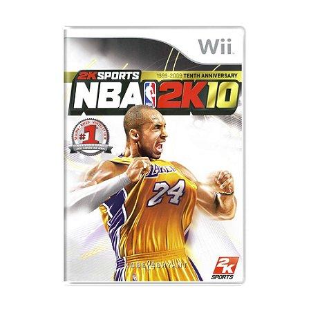 Jogo NBA 2K10 - Wii