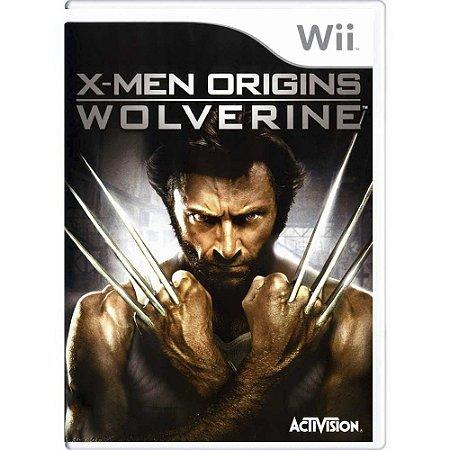 Jogo X-Men Origins: Wolverine - Wii