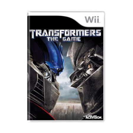 Jogo Transformers the Game - Wii