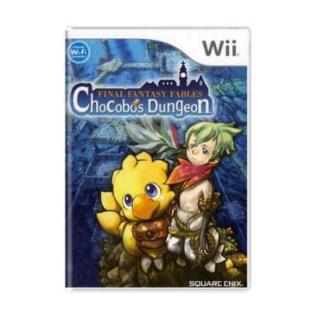 Jogo Final Fantasy Fables: Chocobos Dungeon - Wii