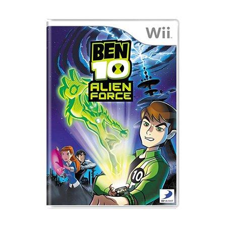 Jogo Ben 10: Alien Force - Wii