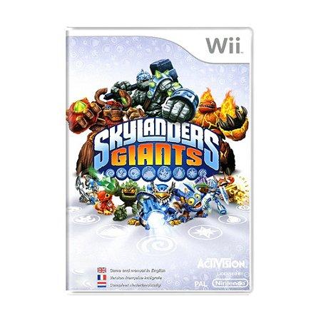 Jogo Skylanders Giants - Wii