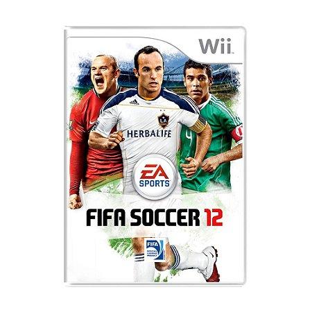 Jogo FIFA Soccer 12 - Wii