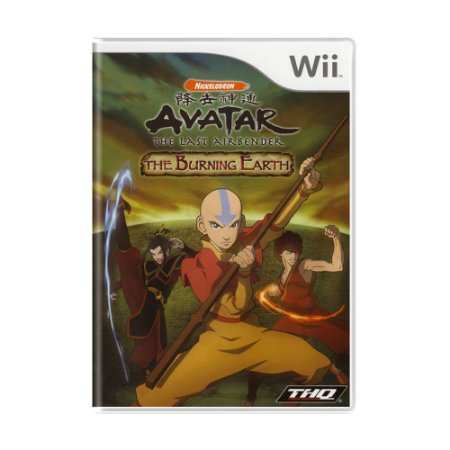 Jogo Avatar: The Last Airbender – The Burning Earth - Wii
