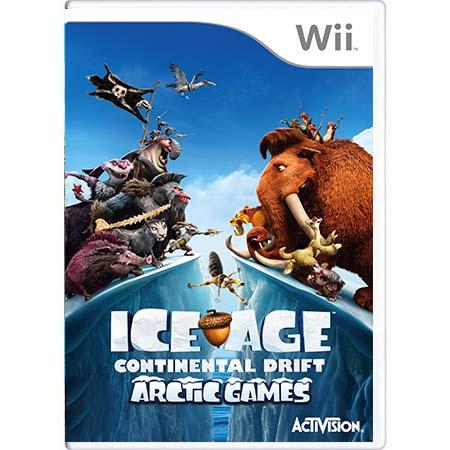 Jogo Ice Age: Continental Drift - Wii