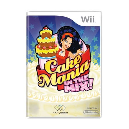 Jogo Cake Mania in the Mix - Wii