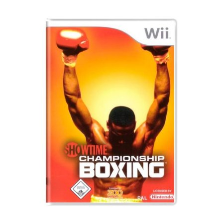 Jogo Showtime Championship Boxing - Wii
